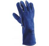 Blue Welding sveise-/sandblåsehanske